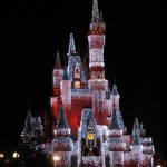 Cinderella Castle during Christmas