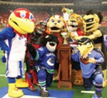 Photo Courtesy Celebrity Mascot Games